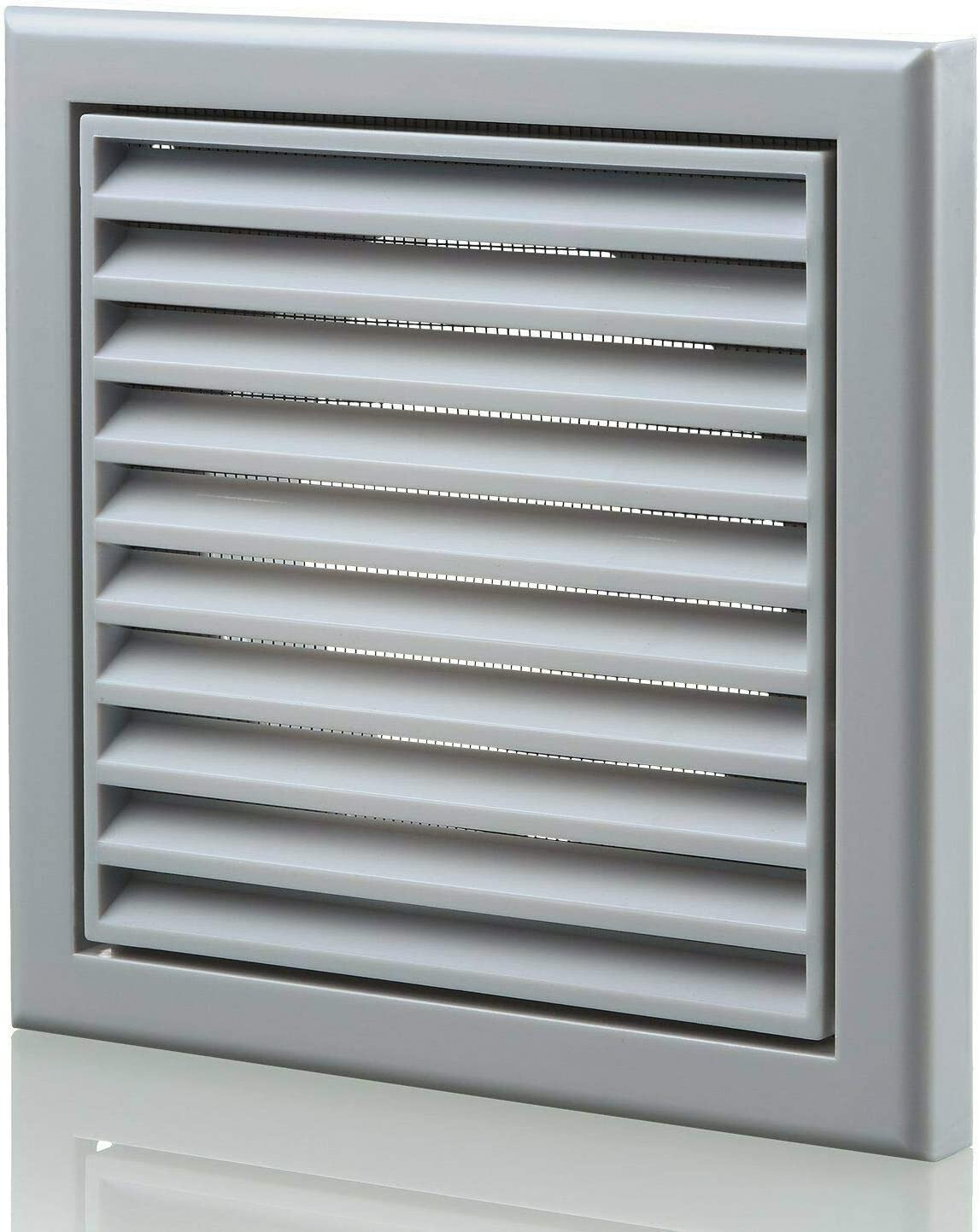150 mm Robust Outside Wall Hole Cover Vent Fitting with Fly Screen for Caravan Shed Bathroom Shower Kitchen Garage Shed for Air Circulation Odour Removal Extractor Fan Cooker Hood Oven Vent