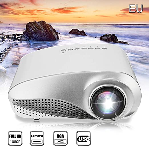 Cosay - Mini proyector 3D Full HD 1080P LED Multimedia Home ...