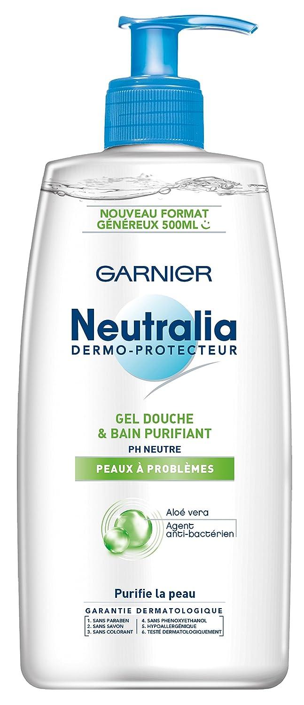 Top Garnier - Neutralia Dermo-Protecteur - Gel Douche et Bain  YP32