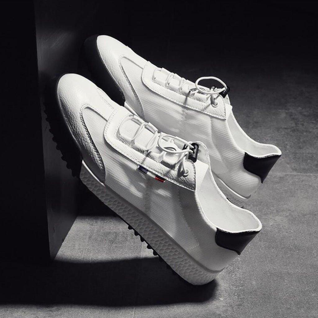 GAOLIXIA Männer Mesh Atmungsaktive Atmungsaktive Atmungsaktive Sportschuhe Sommer Sandalen Flache Freizeitschuhe Leichte Laufschuhe Mode Student Board Schuhe 770f99