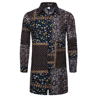 Amazon.com: NDGDA - Chaqueta y abrigo para hombre, estilo ...
