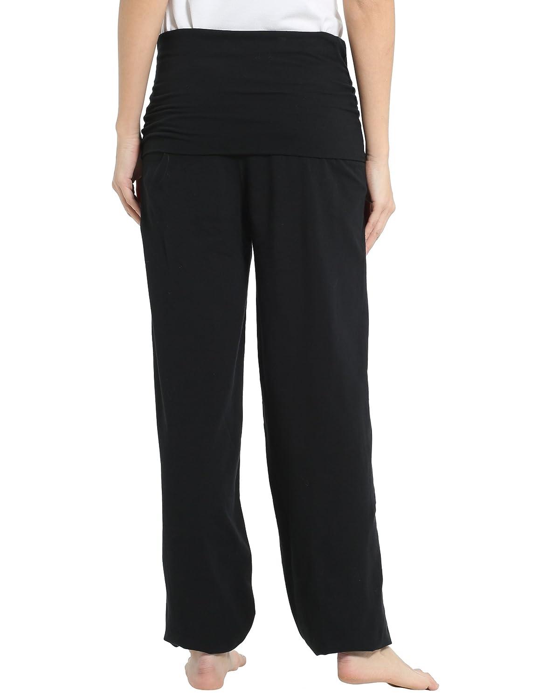 Ultrasport Pantalones de Yoga para Mujer Balance - Pantalones Harem de Mujer con Puños de Canalé - Pantalones Bombachos Mujer Holgados Estilo ...
