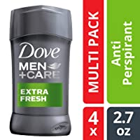Deals on 4-Pack Dove Men+Care Antiperspirant Deodorant Stick Extra Fresh 2.7 oz