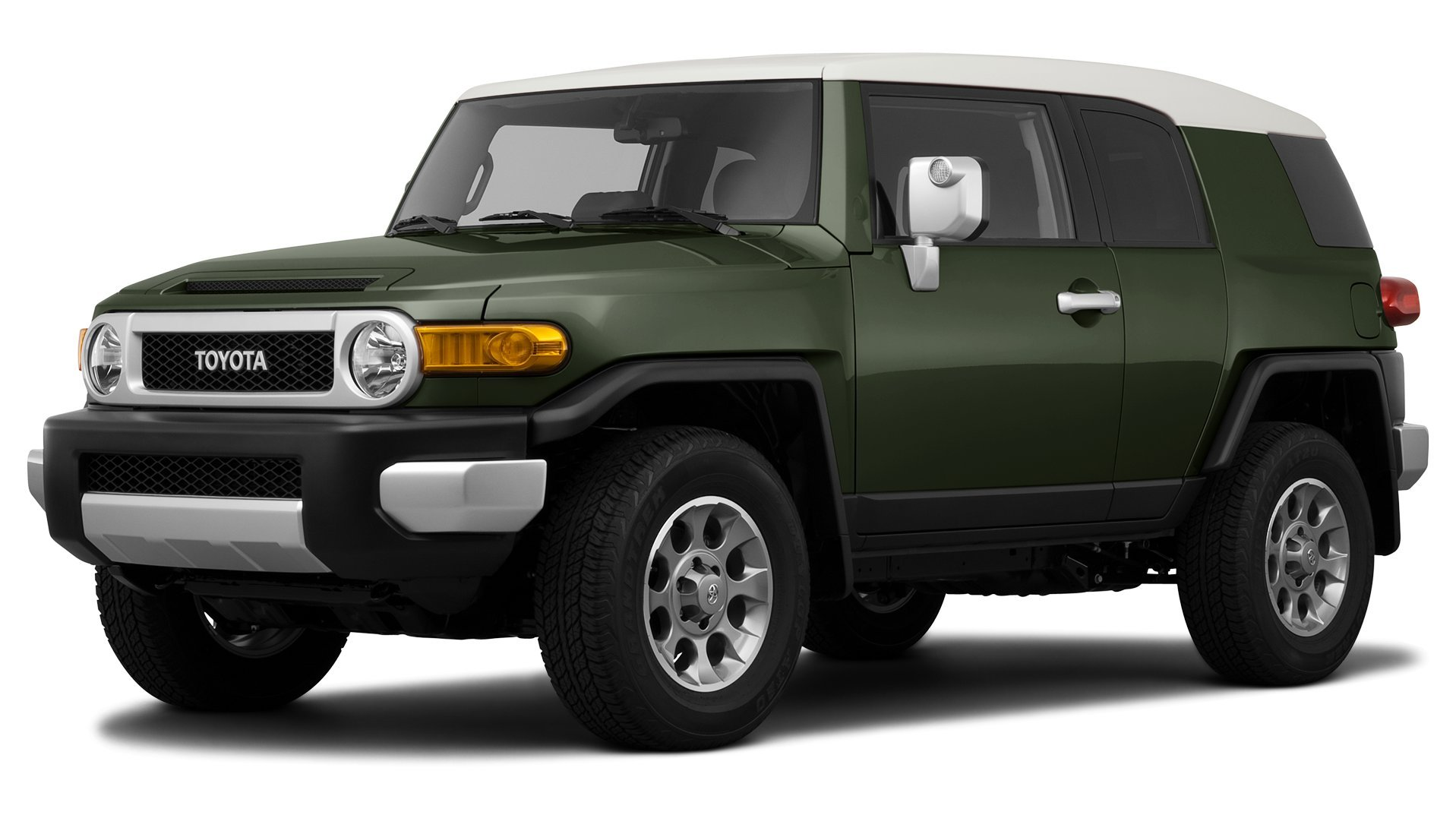 2011 Toyota FJ Cruiser, 4-Wheel Drive 4-Door Automatic Transmission (GS ...