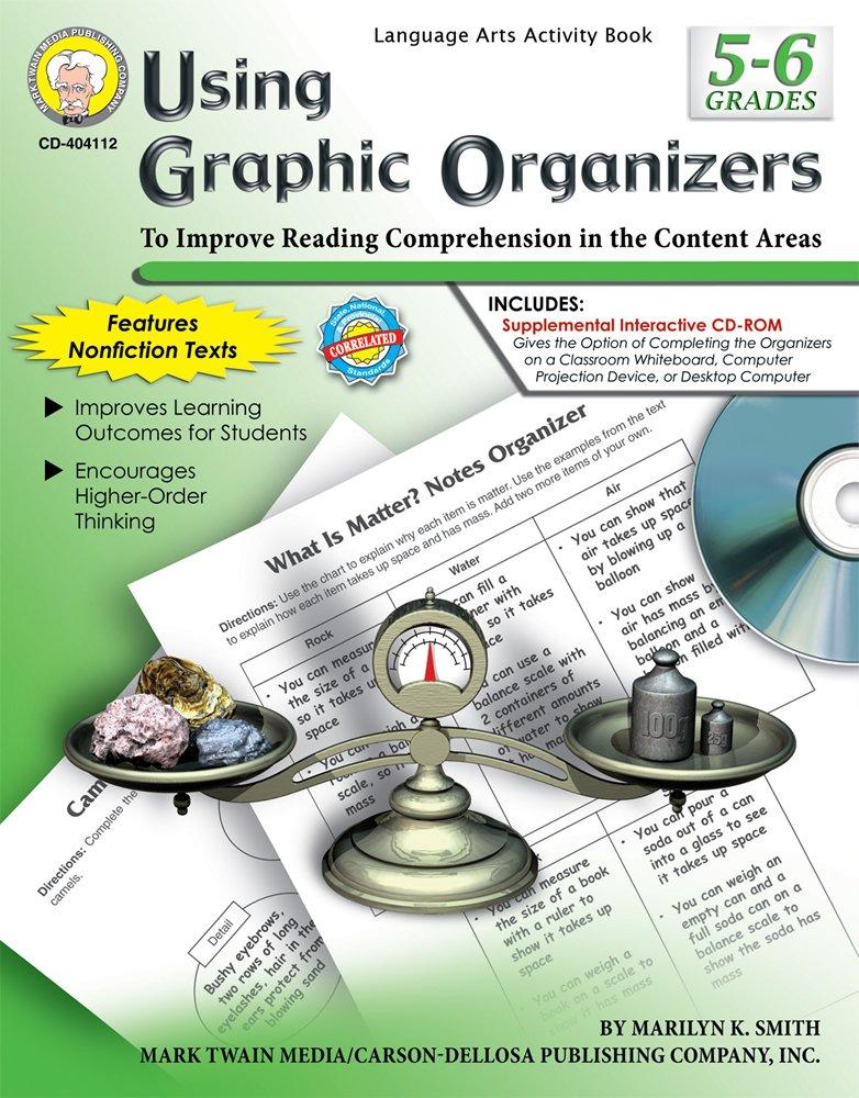 Download Using Graphic Organizers, Grades 5 - 6 PDF