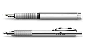 FABER-CASTELL Kugelschreiber BASIC Metall glänzend