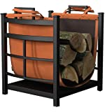 Panacea Products 15245 Mission Log Bin with Log Carrier