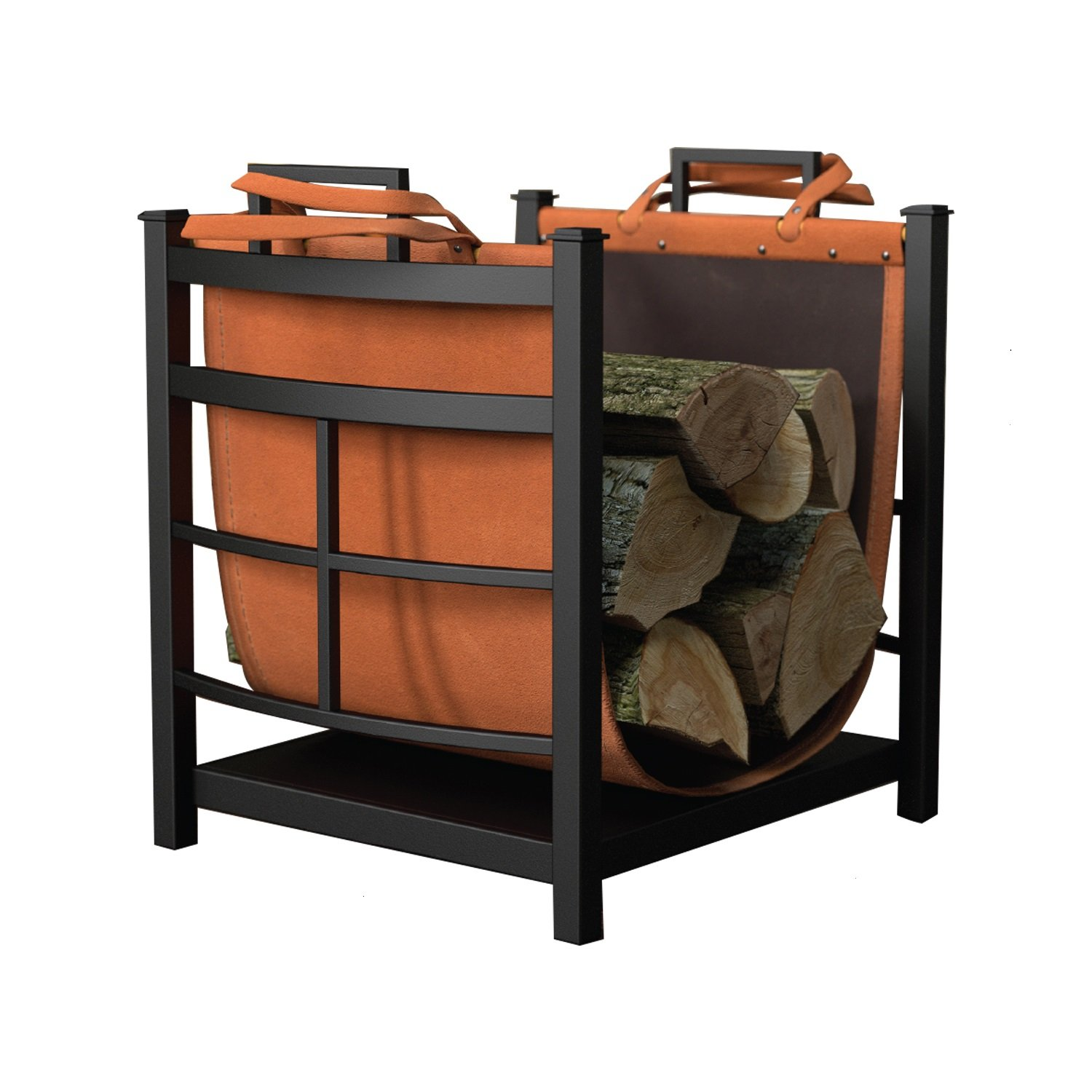 Panacea Products 15245 Mission Log Bin with Log Carrier by Panacea Products
