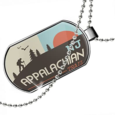 87e3903eff5 NEONBLOND Dogtag US Hiking Trails Appalachian Trail Jersey Dog Tags ...