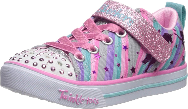 Caballero amable comunidad Mansión  Amazon.com | Skechers Kids' Sparkle Lite-Magical Rainbows Sneaker | Sneakers