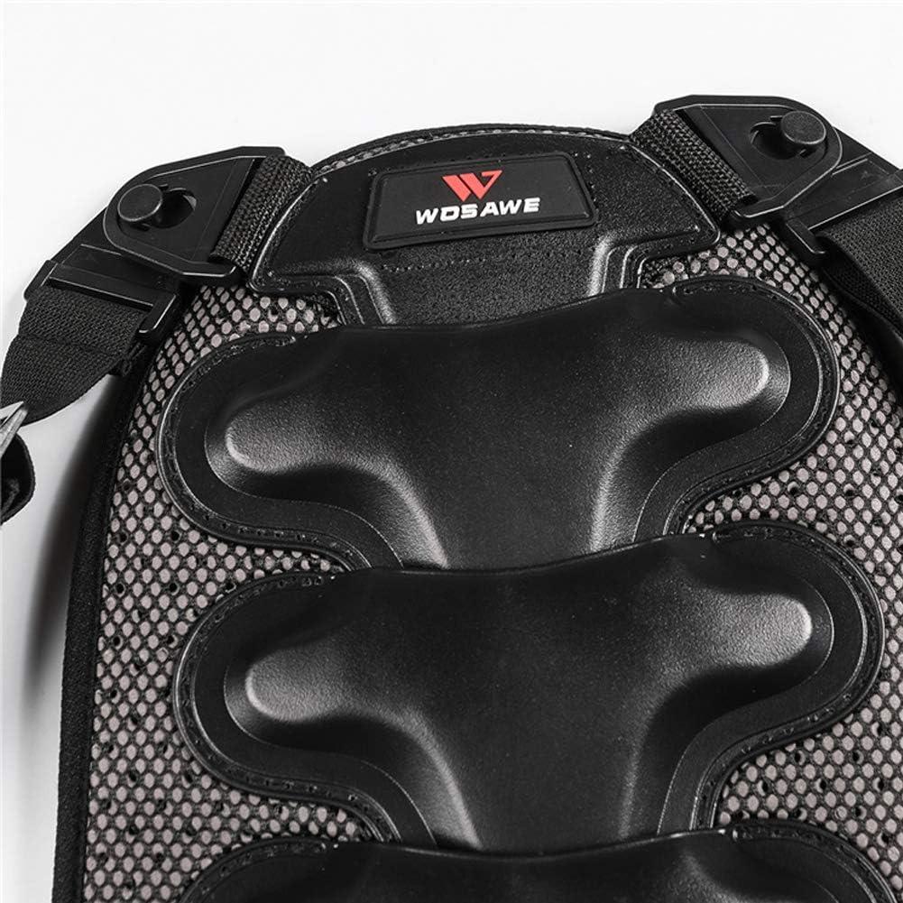 LanLan Protections dorsales Protection Dorsale Amovible pour Protection du Dos en Ski Sportif