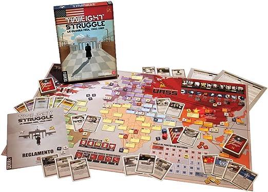 Twilight Struggle GMT Games GMT 0510-09 The Cold War 1945-1989 - Juego de Mesa temático de Guerra y Estrategia (2 Jugadores, Importado de Reino Unido): Twilight Struggle The Cold War 1945-1989 Board