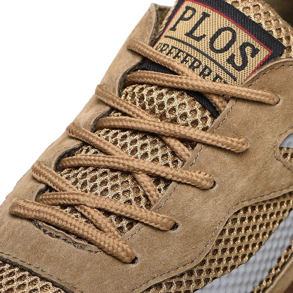 Manka Vesa Mens Boot Steel Toe Bulletproof Safety Trainers Work Shoes Lightweight Sneaker