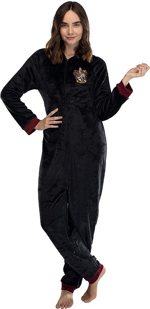 Para mujer Cotton Juego De Harry Potter Gryffindor Pijamas oficial ordenados asistente Sombrero
