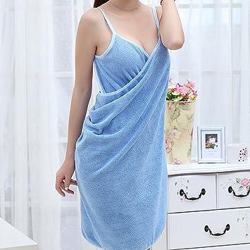 DDU Toalla para mujer Girl Portable Fast drying Magic Beach Spa - Albornoz de baño portátil Toalla Rock plana: Amazon.es: Hogar