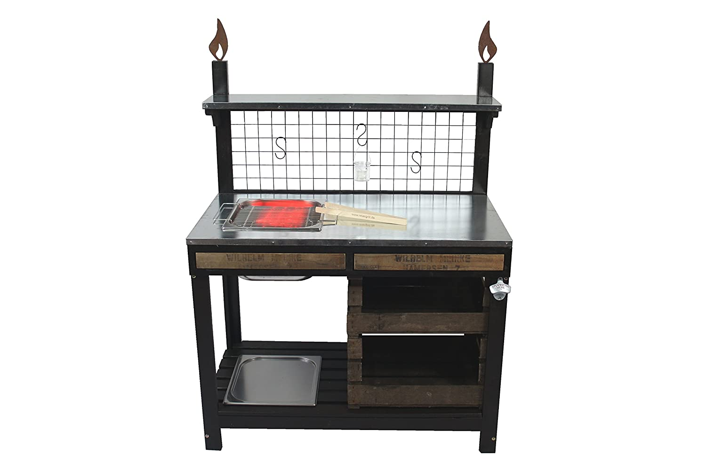 Outdoorküche Möbel Verkaufen : Outdoorküche pico mit edelstahl einbaugrill grilltisch bartisch
