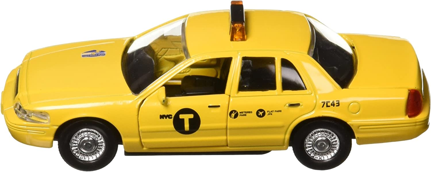 Realtoy 1//43 NYC Taxi Ford Crown Victoria Yellow Cab With Sign RT-8948 Daron