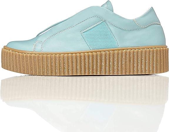 Amazon Brand - find. Women's Elastic Slipper With Platform Sole,FIND,36895