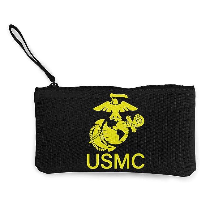 Amazon.com: USMC Marine Corp - Monedero de lona, talla única ...