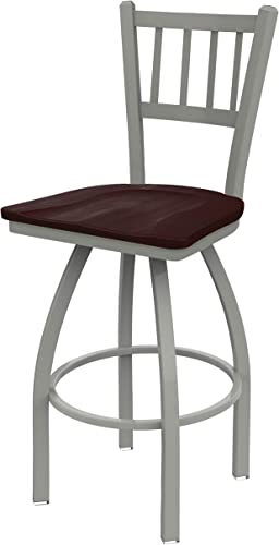 Holland Bar Stool Co. 81030ANDCMpl 810 Contessa Bar Stool, 30 Seat Height, Dark Cherry Maple