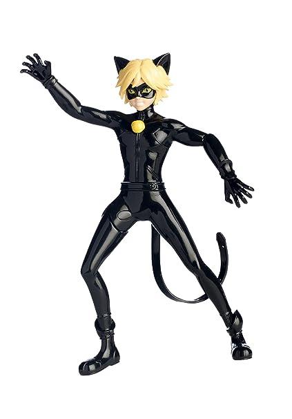 Bandai Miraculous Ladybug Figurine à Fonction 19 Cm Chat Noir Cataclysme 39732