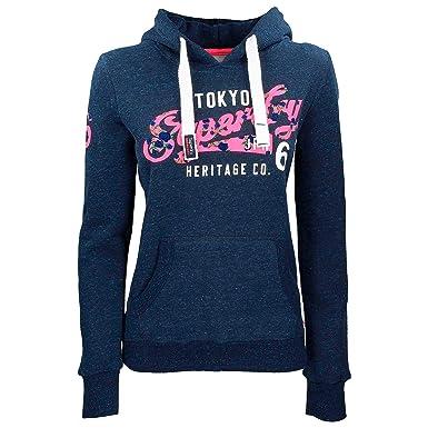 0536eec15e Superdry Heritage Flockm Sweat pour Femme (XL): Amazon.fr: Vêtements ...