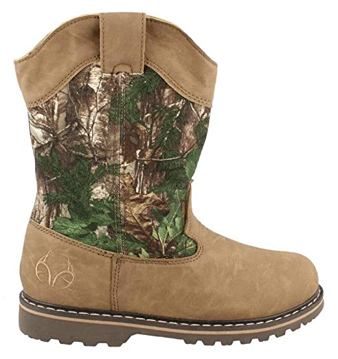 amazon com boy s realtree outfitters by duck head montana jr boot