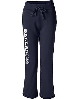 Wally s Custom Apparel Womens Dallas Chick Sweatpants Navy Blue Sizes Small  - XL 5ecfb9ceb