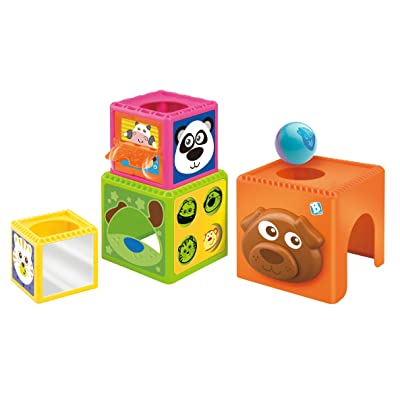 B kids Busy Baby Stackers (Discontinued by Manufacturer): Baby