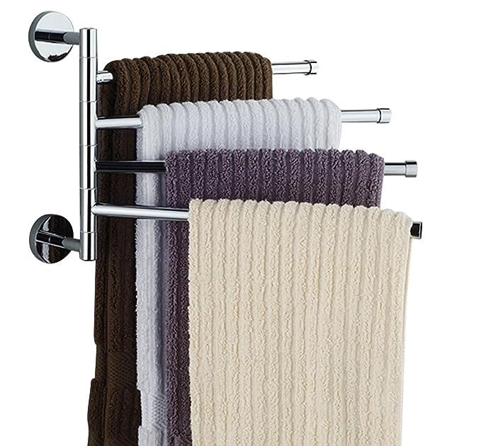 Amazon.com: Bekith - Soporte organizador para colgar toallas ...