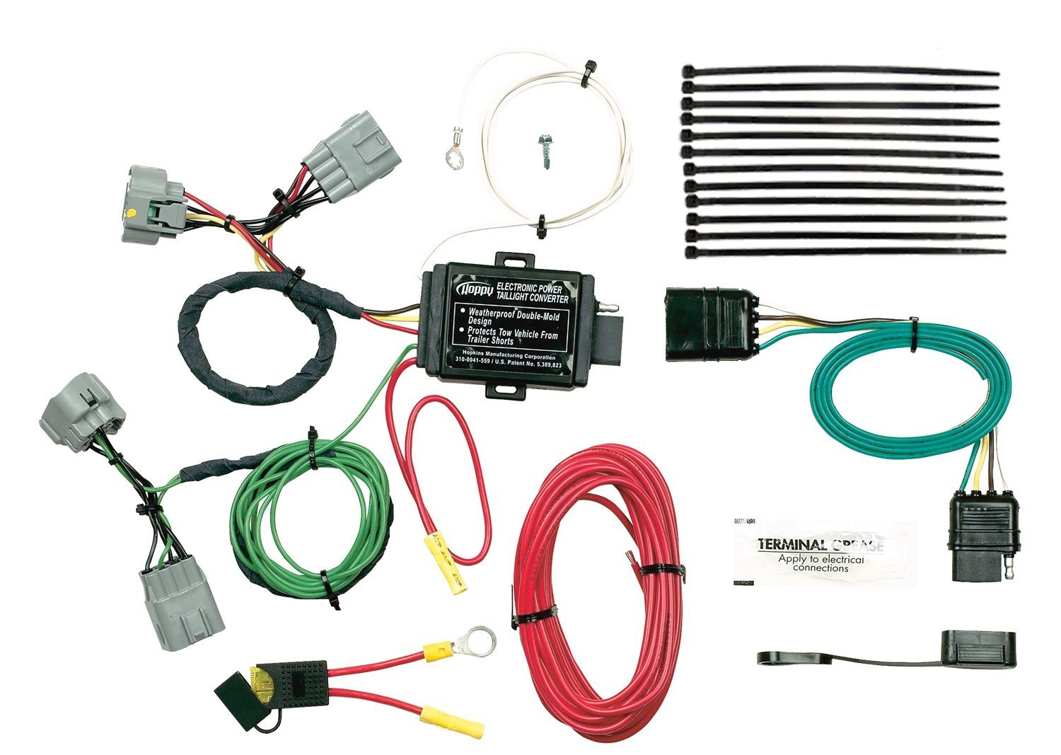 Hopkins 42545 Plug In Simple Vehicle Wiring Kit Automotive Pt Trailer Harness