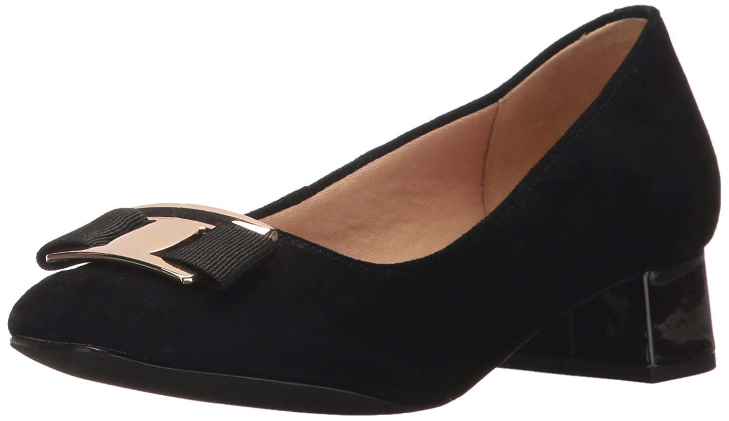 Trotters Women's Louise Dress Pump B01MZ2HNB9 10.5 W US|Black