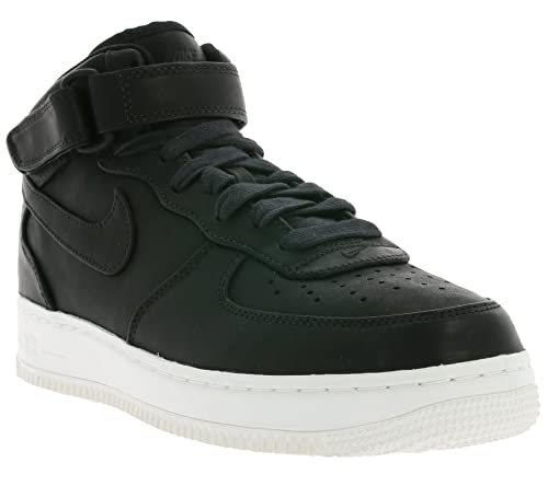 551fc659d0 Nike Mens NikeLab Air Force 1 MID Leather Mid-Top Athletic Shoes