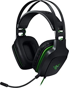 Razer Electra V2 USB: 7.1 Surround Sound - Auto Adjusting Headband - Detachable Boom Mic with In-Line Controls - Gaming Headset Works with PC & PS4