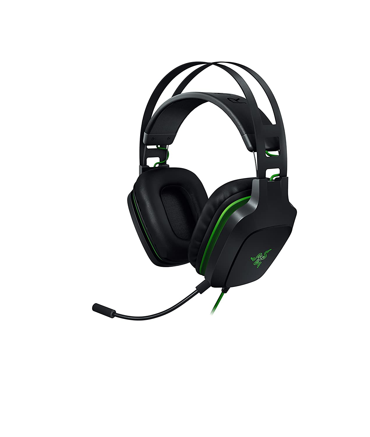 Razer Electra V2: 7.1 Surround Sound - Auto Adjusting Headband - Detachable Boom Mic with in-Line Controls - Gaming Headset Works with PC, PS4, Xbox One, Switch, Mobile Devices Razer Inc. RZ04-02210100-R3M1