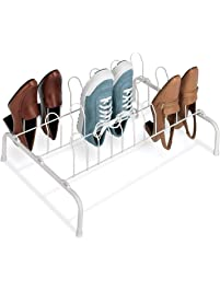Merveilleux Whitmor Floor Shoe Rack 9 Pair