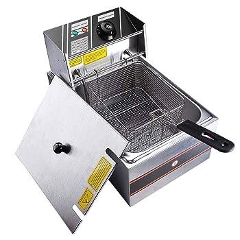 YESCOM 2500W 6L Electric Countertop Deep Fryer