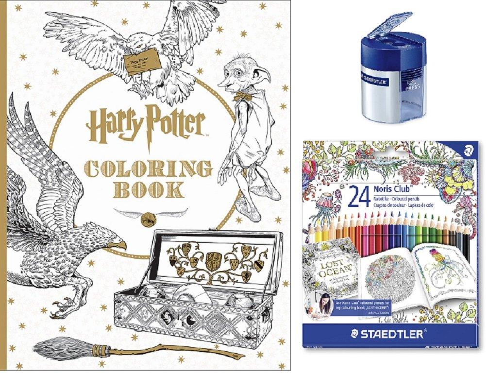 Harry Potter Malbuch – Erwachsenen-Malbuch – Malbuch für stress ...