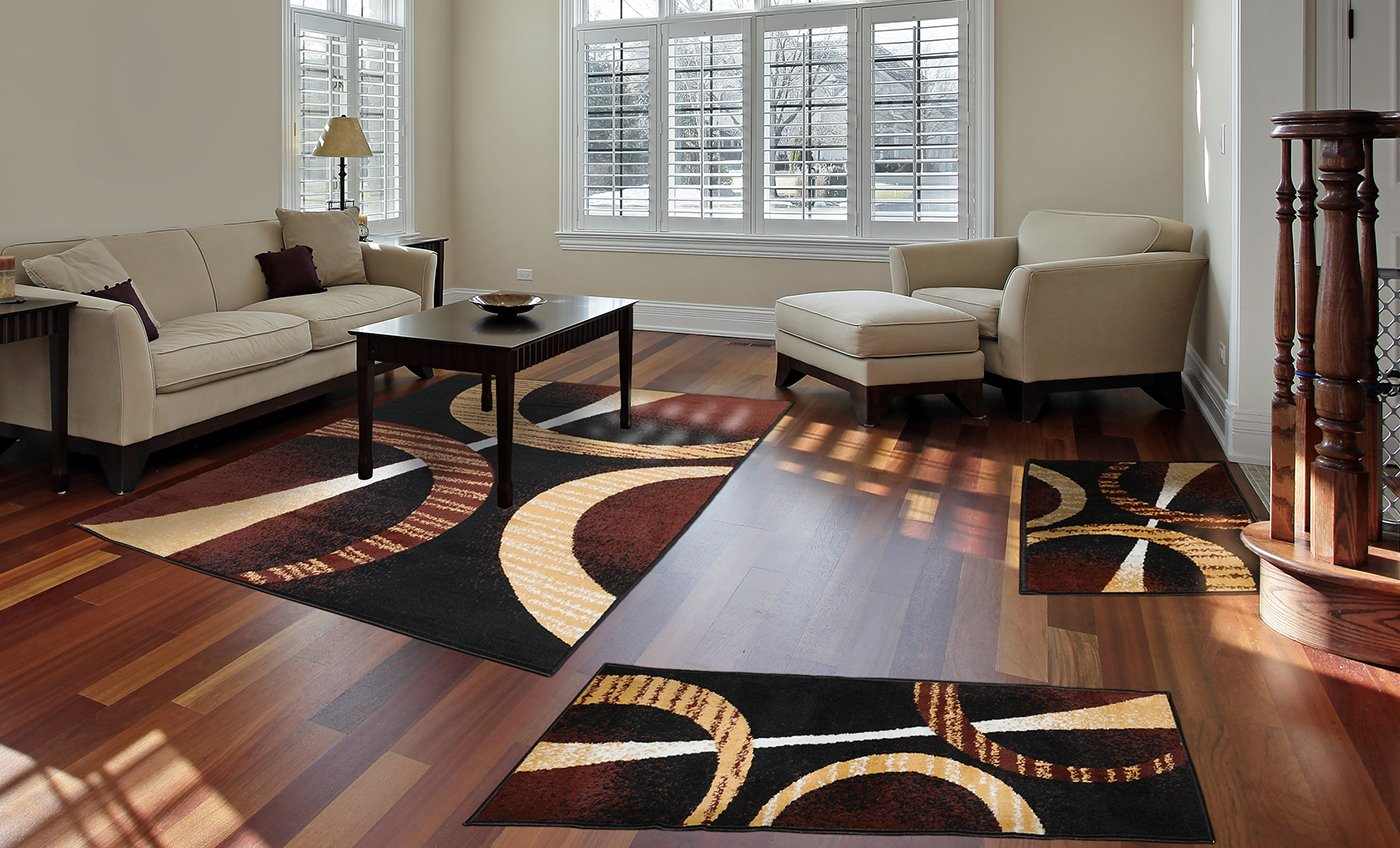 Home Dynamix Area Rugs Ariana Collection 3 Piece Living Room Rug