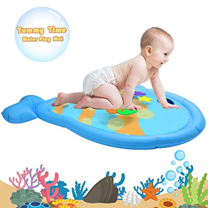 Amazon.com: serendipper Water Play Mat, Inflatable Fish ...