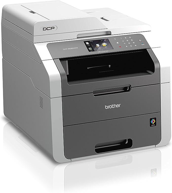 Brother DCP9020CDW - Impresora láser multifunción (16 ppm, Wi-Fi ...