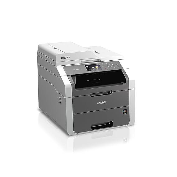 Brother DCP9020CDW - Impresora láser multifunción (16 ppm, Wi-Fi), Color Negro y Gris [Importado de Francia]
