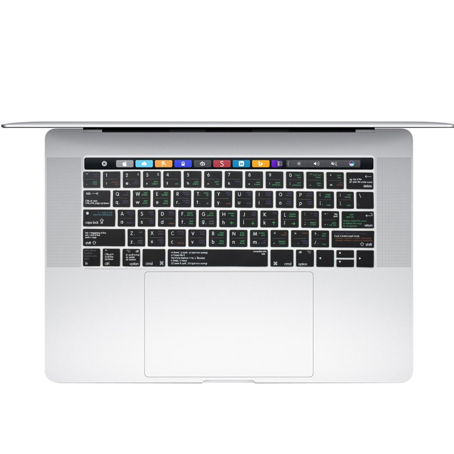 Amazoncom Dogxiong Touch Bar Us Layout Linux Vi Vim Functional Hot .