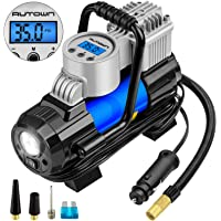 $26 » AUTOWN Air Compressor Pump, 12V DC Portable Digital Tire Inflator with Gauge 140W 120 PSI, 4…