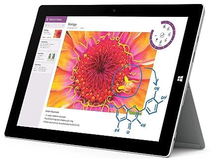 amazon com microsoft surface 3 tablet 10 8 inch 64 gb intel