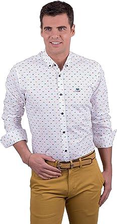 La Española Camisa con Estampado Sherlock: Amazon.es: Ropa y accesorios