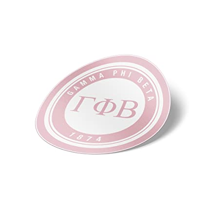 97b68677 Amazon.com: Gamma Phi Beta Sticker Sorority Seal Decal Exclusively Designed  3 Inch Greek for Window Laptop Computer Car gamma phi: Everything Else
