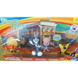 Looney Tunes Figure 5 Pack - Yosemite Sam, Daffy Duck, Bugs Bunny, Porky Pig, and Taz