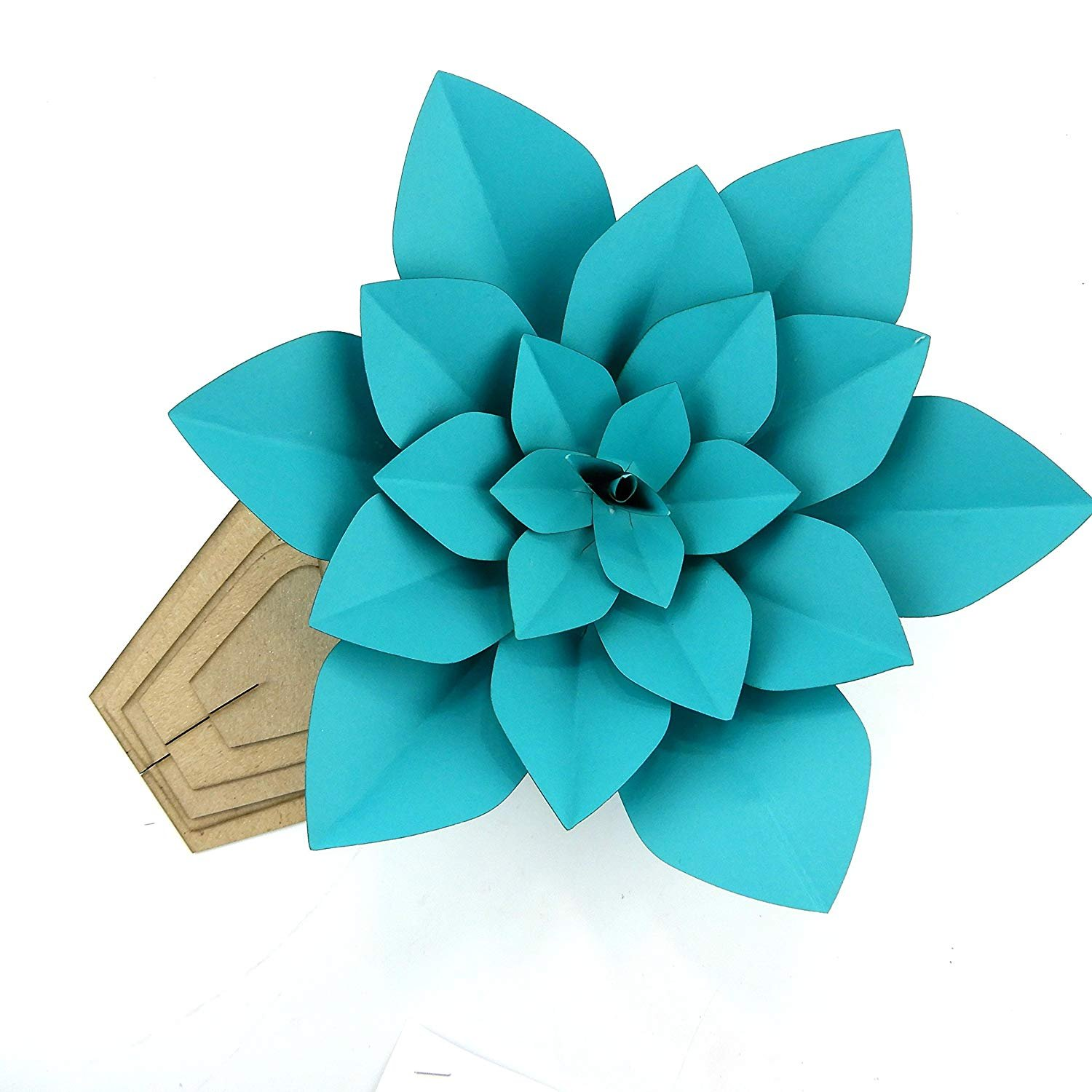 Paper Flower Template Kit Pattern DIY Make Your own Flower Backdrop Photo Booth Flower Decoration Card Stock LIZZANA