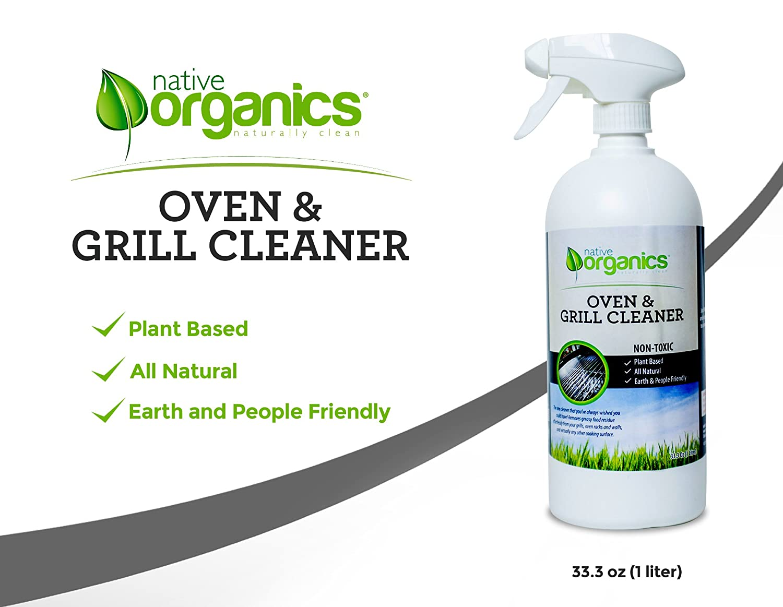 amazon com native organics 100 natural non toxic oven grill